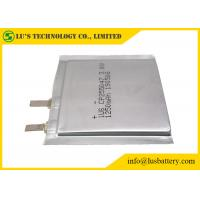 Wholesale Flexible Lithium Battery Cp255047 1250mAh 3V flexible thin cell from china suppliers