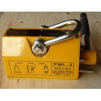Wholesale Unique Electro Permanent Magnetic Lifter , Yellow Steel Magnetic Lifter from china suppliers