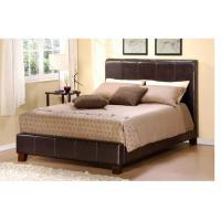 Modern white euro leather platform full size bed of everhao for European beds for sale