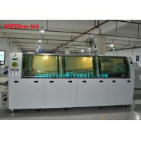 Medium Size Automatic SMT Wave Soldering Machine 900KG Weight Labor Saving