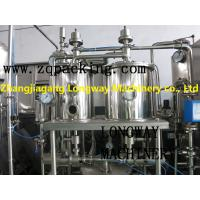 Wholesale Monoblock zhangjiagang complete Carbonated drinking water plant price from china suppliers