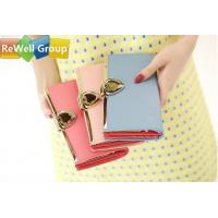 Wholesale Ms Small Long Ladies Leather Purse Wallet , Womens Red Leather Wallet from china suppliers
