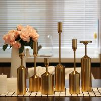 Wholesale Golden Lighthouse Long Stem Metal Candle Holder For Home Decoration from china suppliers