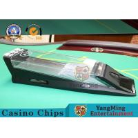 Wholesale Automatic Casino Card Shoe With Black Casino 1 - 8 Decks Customized Logo from china suppliers