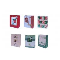 Wholesale 210gsm art paepr glossy varnish, embossing, matte Personalized Christmas Gift Bags from china suppliers