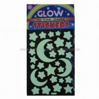 Wholesale Glow-in-dark star moon stickers from china suppliers
