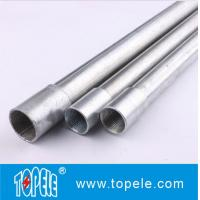Wholesale Electrical Galvanized Steel BS4568 Conduit GI Tube With Threaded Coupler, 10 Feet from china suppliers