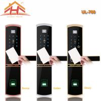 Wholesale Keyless Remote Control RFID Card Fingerprint Smart Lock With Waterproof Screen from china suppliers