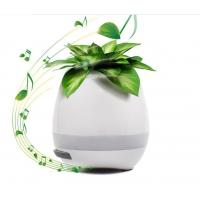 China 2017 Trending Product For Christmas Gift Music Flower Pots Wholesale With LED Light And Bluetooth wholesale