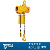 Yuantai 2t monorail traveling electric chain hoist for sell