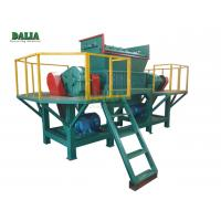 Wholesale High Efficiency Wood Shredder Machine Double Shaft With Φ500×40mm Knife 9 Ton from china suppliers
