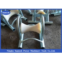 Wholesale Steel Frame Nylon Wheel Bridge 12kn Cable Pulley Roller from china suppliers