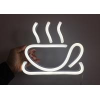Buy cheap RF Remote Control Neon Coffee Sign Decorative Kitchen Cup Logo from wholesalers