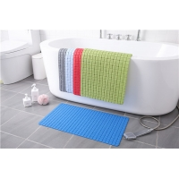 Wholesale Plaid Silicone Non Slip Bath Mat from china suppliers