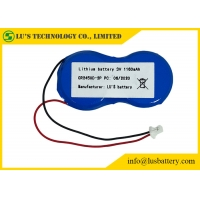 Wholesale Lithium coin CR2450 batteries provide long-lasting reliable power in various devices CR2450 CR 2450 3V Lithium Batteries from china suppliers