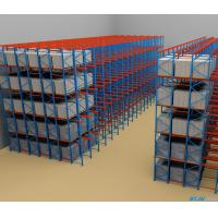 Wholesale SPCC Material Drive In Pallet Rack With Powder Coating Surface Treatment from china suppliers