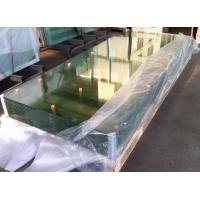 China Curve clear 10mm / 8mm Bulletproof  Tempered Safety Glass for Office Separator wholesale