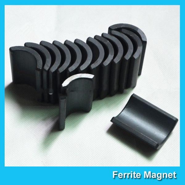 Quality Y30 Grade Ferite Arc Magnets For Motors Ferite Ceramic Motor Arc Magnets for sale