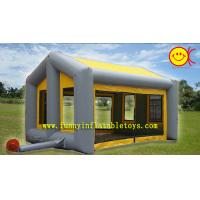 Durable Rectangle Inflatable Tent House / Party Event Tent For Family Camping
