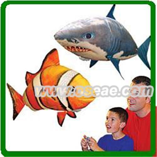 Air swimmers fish shark of item 92243683 for Air swimming fish