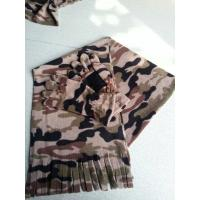 Wholesale camo fleece gloves and scarf from china suppliers