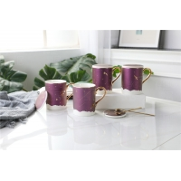 Wholesale 13.5oz 89mm Height Edge Chip Resist  Novelty Bulk Pottery Coffee Mugs from china suppliers
