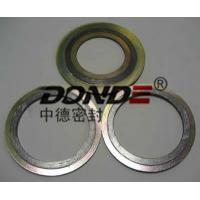 Wholesale Spiral Wound Gasket with inner and outer ring metal gasket from china suppliers