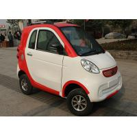 Wholesale Red White Family Electric City Car , 3 Seats 2200 W Motor Automatic Electric Car from china suppliers