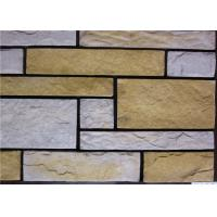 Wholesale Rectangle Artificial Wall Stone With Strong Adhesion Color Solid Focus from china suppliers