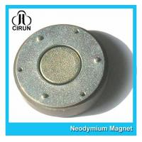 China Small Thin Custom Neodymium Magnets , Strong Round Flat Ndfeb Magnet on sale