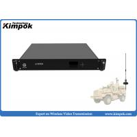 Wholesale 1.5U Vehicle Mounted HD COFDM Receiver 1080P Wireless AV Receiver Real-time Transmission from china suppliers