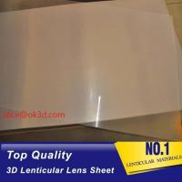 Wholesale Google SELL Hot transparent Cylinder 25 LPI 4mm 3d Lenticular Sheet lenticular plates materials with lenticular effects from china suppliers