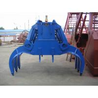 Wholesale Industrial Electro-Hydraulic Rectangle Grab for Single Hook Crane and Scrap from china suppliers