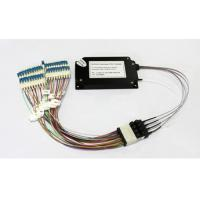 Wholesale 40 Channels C21-C60 Dual Fiber Athermal AWG Module With 1U Rack Mount, LC/UPC from china suppliers