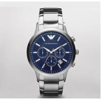 Emporio Armani Watch AR2448 Chronograph Stainless Steel 43mm, 5ATM WR