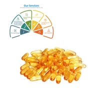Wholesale Cod Liver Oil Softgel 500mg Fish Oil Softgel Capsules from china suppliers