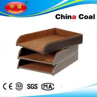 Wholesale Popular Crafts Leather Document Tray from china suppliers