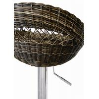 China Rattan Series Of The Bar Chair With Chrome Base,W47*D48*H79-100cm In The H-504 wholesale