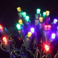 Wholesale 50 bulb led multi color string lights for christmas from china suppliers