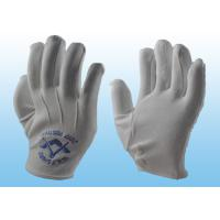 Wholesale Bleached White Marching Band Gloves Great Flexibility With Plastic Button from china suppliers