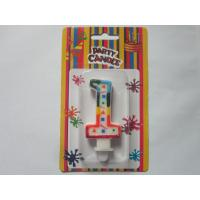 Eco Friendy Special Birthday Candle Number 1 8.5G / Set For Festival Celebrations