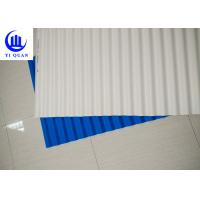 Wholesale Plastic Corrugated Tinted Plastic Roofing Sheets / Spanish Tile Roof from china suppliers