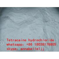 Wholesale Local Anesthetic Drugs Tetracaine HCl CAS 136-47-0 for  pain killer from china suppliers