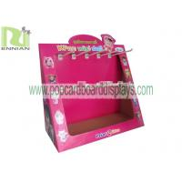 Wholesale Cardboard counter display with hooks countertop displays pos displays CDU fixtures ENCD002 from china suppliers