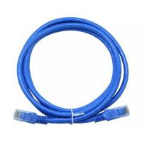 Wholesale RJ45 UTP CAT5E Lan Cable Patch Cords Blue Color CMR / CM / CMG / CMX Fire Rating from china suppliers