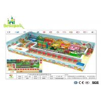 Wholesale Children / Toddlers Indoor Soft Playground Anti - Static 1680 * 1000 * 350cm from china suppliers