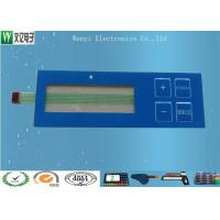 Wholesale Glossy Overlay & Blue Window  Embossing Membrane Switch With Luxing Backadhesive from china suppliers