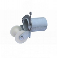 Buy cheap 200mm Conduit Laying Guide Cable Pulleys And Rollers from wholesalers