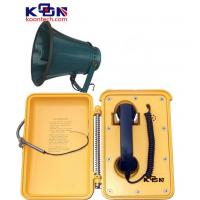 Wholesale Weatherproof Industrial Telephones , Yellow Loud Speaking Phone from china suppliers