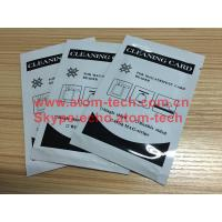 Wholesale ATM Machine ATM spare parts ATM Encoded Cleaning Card from china suppliers